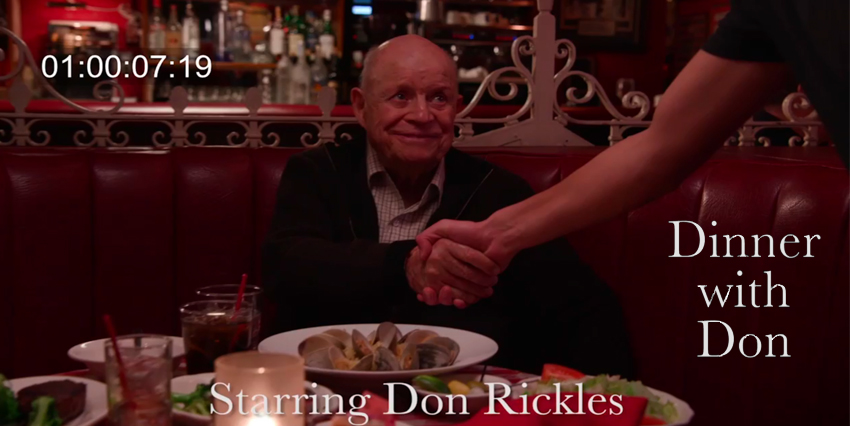 A unique legacy video series honoring beloved comedian Don Rickles