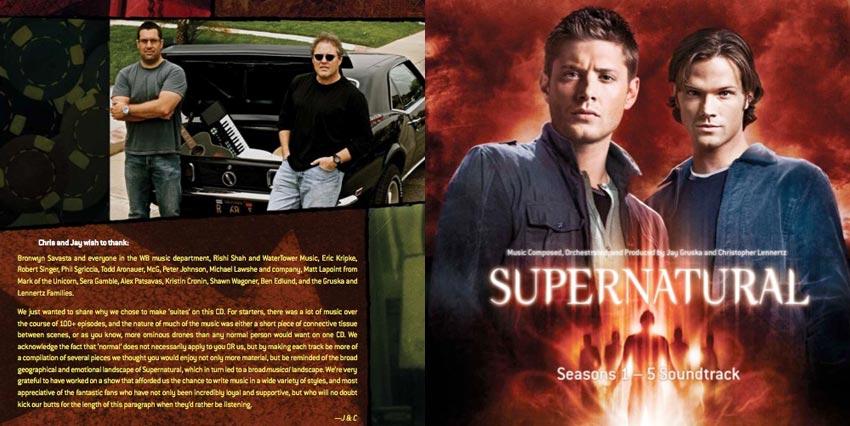 Supernatural Soundtrack - From the TV Series Supernatural